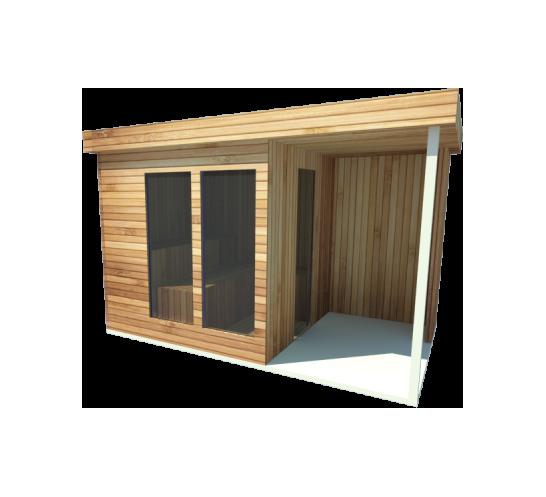 Sauna zewnętrzna Open