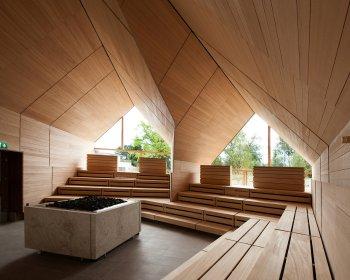 Wizualizacja sauny