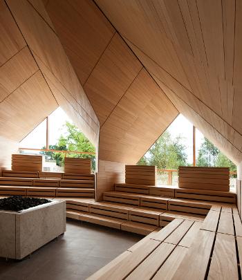 Sauna fińska gotowa