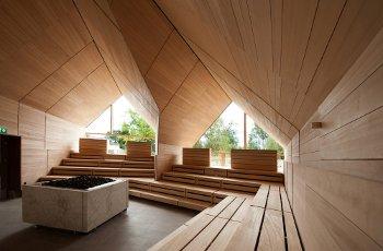 Sauna fińska na zewnątrz