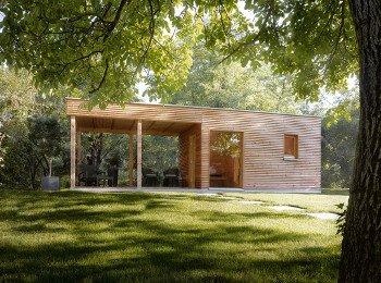 Sauna z bali drewnianych